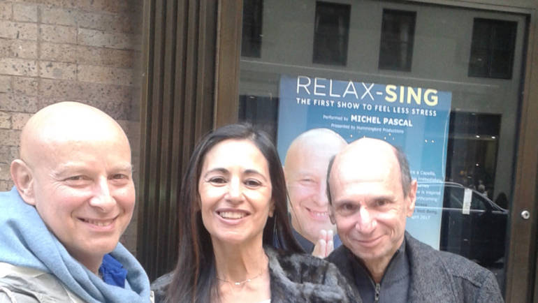 """New York: Carnegie Hall (in the concert """"Relax-Sing"""" by Michel Pascal)"""