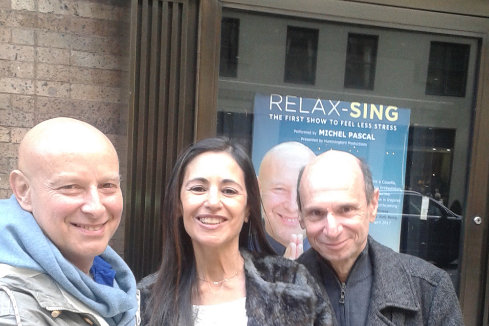 "New York: Carnegie Hall (in the concert ""Relax-Sing"" by Michel Pascal)"